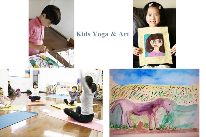 Kids yoga & Art